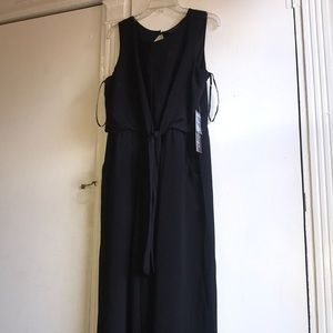 Luxology size 12 black wide leg jumpsuit NWT.